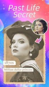 Magic Face face aging, young camera, fantastic app1