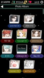 Mystic Messenger screen 1
