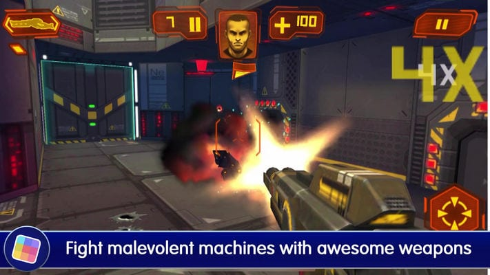 Neon Shadow Cyberpunk 3D First Person Shooter1