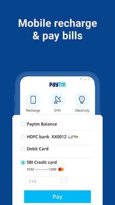 Paytm -UPI, Money Transfer, Recharge, Bill Payment1