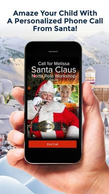 Personalized Call from Santa (Simulated) by www.PackageFromSanta.com2