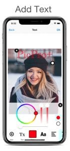 PicPro+ Photo Editor screen 2