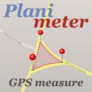 Planimeter GPS Area Measure by VisTech.Projects LLC