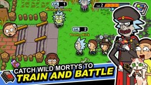 Pocket Mortys screen 1