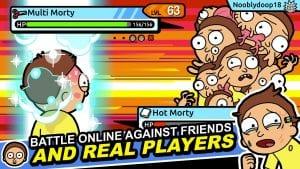 Pocket Mortys screen 2