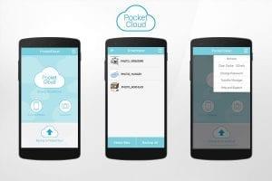 PocketCloud screen 1