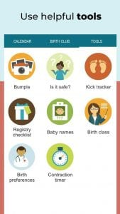 Pregnancy Tracker screen 2
