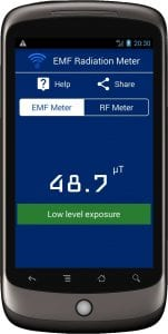 Radiation Meter screen 1