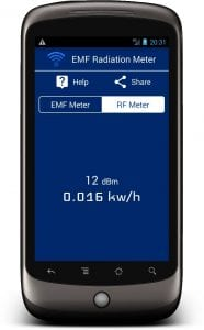 Radiation Meter screen 2