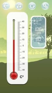 Real Thermometer screen 1