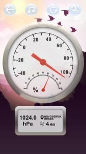 Real Thermometer screen 2