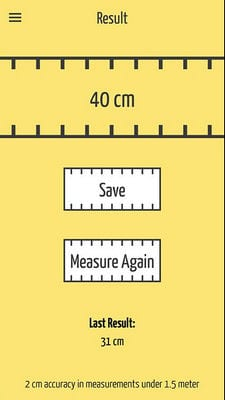 SizeUp - a Smart Tape Measure1