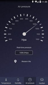 Thermometer - Hygrometer & Ambient Temperature app1