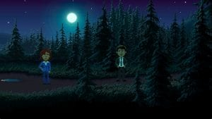 Thimbleweed Park screen 1