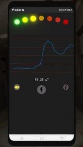 True EMF Detector screen 1
