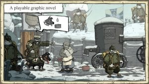 Valiant Hearts The Great War screen 1