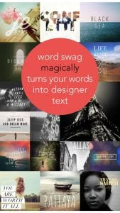 Word Swag screen 1