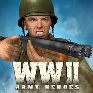World War 2 Frontline Heroes: WW2 Commando Shooter logo