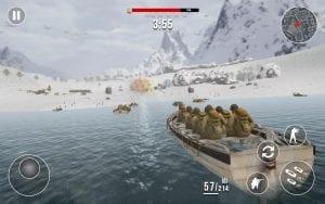 World War 2 Frontline Heroes: WW2 Commando Shooter screen 2