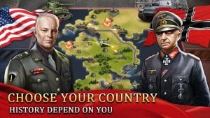 World War 2: WW2 Grand Strategy Games Simulator screen 1