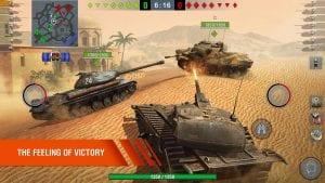 World of Tanks Blitz 3D War screen 1
