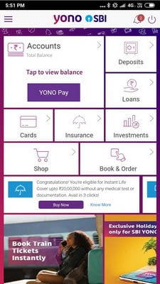 YONO SBI The Mobile Banking and Lifestyle App1