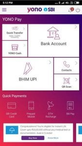 YONO SBI The Mobile Banking and Lifestyle App2