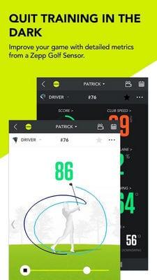 Zepp Golf Swing Analyzer2