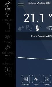 iCelsius screen 2
