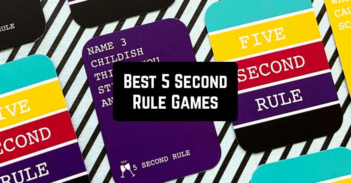 5 Second Rule Games