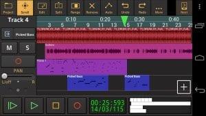 Audio Evolution Mobile TRIAL screen 1
