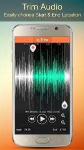 Audio MP3 Cutter Mix Converter and Ringtone Maker screen 2