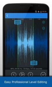 MP3 Cutter screen 2