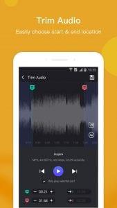 Music Editor screen 2