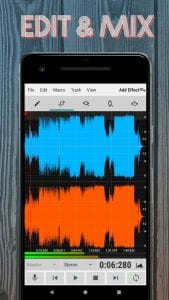 WaveEditor for Android™ Audio Recorder & Editor screen 1