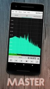 WaveEditor for Android™ Audio Recorder & Editor screen 2
