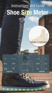 Shoe Size Meter screen 1