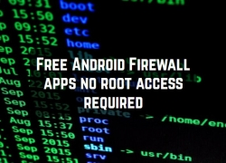 11 Free Android Firewall apps no root access required