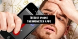10 Best iPhone thermometer apps