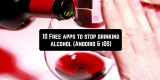 10 Free apps to stop drinking alcohol (Andoird & iOS)
