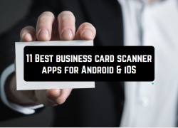 11 Best business card scanner apps for Android & iOS