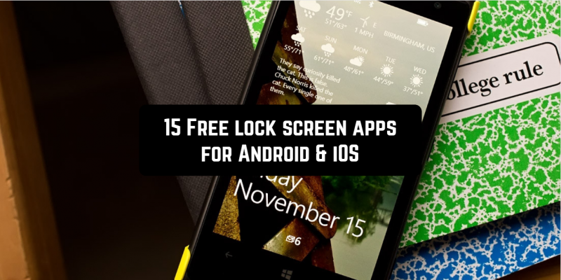 15 Free lock screen apps for Android & iOS (widgets & wallpapers)