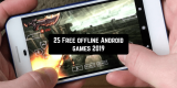 25 Free offline Android games 2019