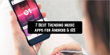7 Best Trending music apps for Android & iOS