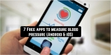 7 Free apps to measure blood pressure (Android & iOS)