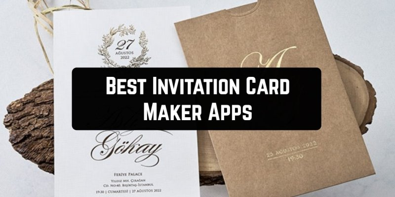 11 Best Invitation Card Maker Apps for Android & iOS