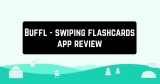 Buffl – swiping flashcards app review