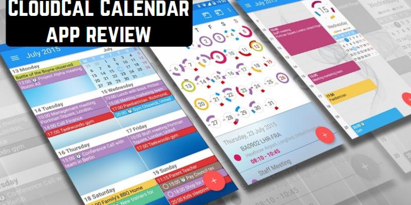 CloudCal Calendar app review