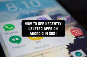 How to See Recently Deleted Apps on Android in 2021