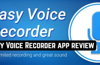 Easy Voice Recorder app review